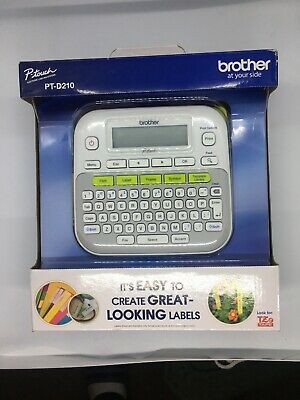 Label Maker Printer Machine Portable Easy Use Durable Laminated Multiple -