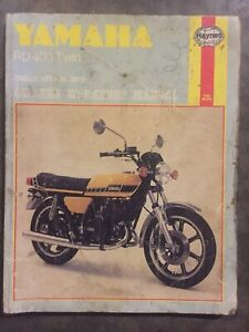 Yamaha RD400 service manual