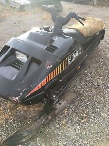 Parting out a 1989 Skidoo Formula MX Lt