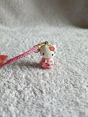 Sanrio Hello Kitty Japan Traditional Clothes mobile key bag CHARM strap chain