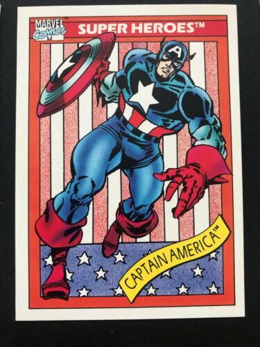 1990 Impel Marvel Universe Trading Card Set Series 1 Complete Pick Your Set
