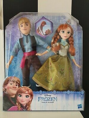 Barbie Set, Anna Kristoff, Disney Hasbro, Eiskönigin, Frozen, OVP