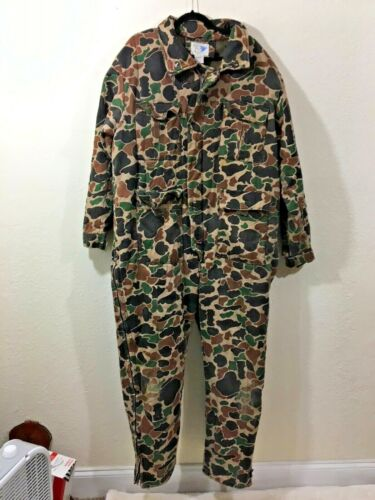 Vintage Mens Trophy Club Coveralls Insulated Hunting - Size XL - Great Condition