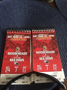 March 18 Mooseheads
