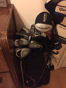 Great set of clubs Taylor made woods, titiliest wedges
