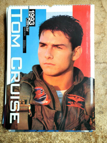 "2021=1993 Tom Cruise UK Calendar-12 Large Color Prints- 12""x16"" (FW-93-06)"