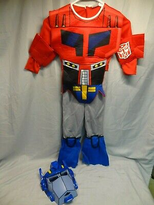 Optimus Prime Halloween Costume (HASBRO TRANSFORMERS ANIMATED OPTIMUS PRIME SIZE 4-6 HALLOWEEN COSTUME)