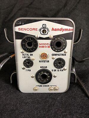 Vintage Sencore Tube Tester Handyman Hm 119. Original Owner.