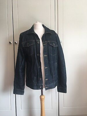 G308 Vans 'off The Wall' Denim Jacket, New Without Tags, Size M