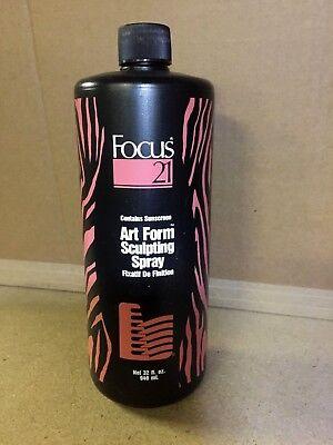 Focus 21 Art Form  Sculpting Hair Spray  32 fl oz / 946 ml  original formula 1G  for sale  Calgary