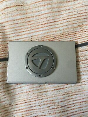 Taylormade Golf Metal Business Card Holder