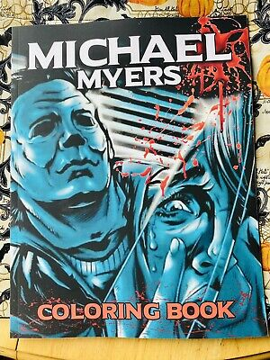 Michael Myers Coloring Book Halloween 1978
