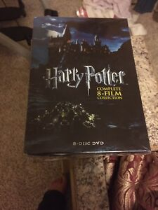 Harry Potter 8 DVDs collection