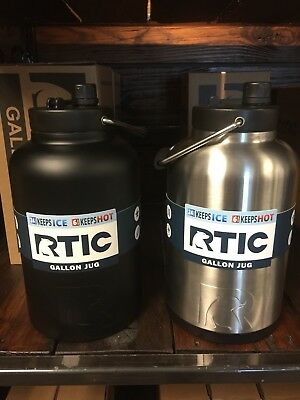 RTIC One Gallon Half Gallon Jug Many Colors Holds Ice Vacuum Insulated -