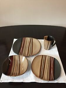 16 piece dish set for 4