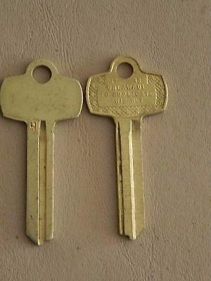 Best Falcon Ic Core Key Blanks - 2 Blanks - H Keyway