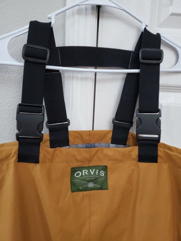 Orvis Clearwater Waders Size LL Stockingfoot, with Suspenders Never Used