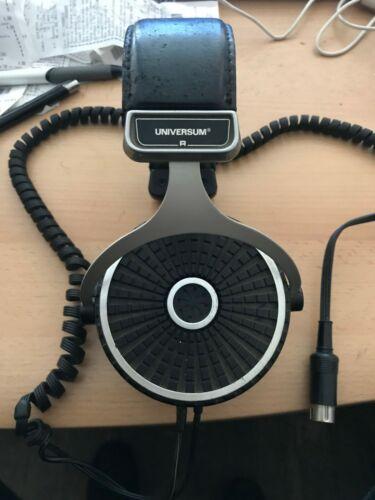 Vintage old Headphones Universum rare