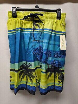 Sonoma Mens Swimwear - Life + Style - Sz S - (Mens Swimwear Styles)