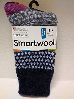 SMARTWOOL WOMEN'S POPCORN CUSHION CABLE (Popcorn Cable Socks)