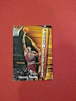 1997-98 Topps Finest Michael Jordan Card # 271