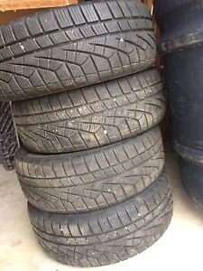 Atlas Tire 3000+ winter tires and rims, 205/55 R16