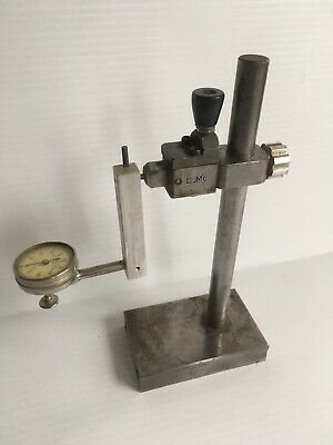 Starrett Dial Test Indicator No 196 Jeweled .001 With Custom Stand Machinist