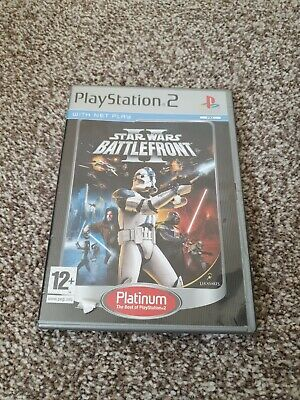 Star Wars: Battlefront II (Sony PlayStation 2, 2005) - European Version