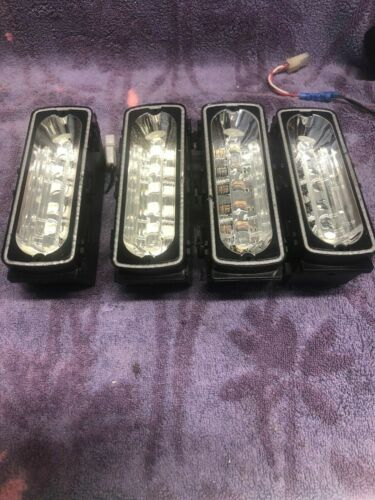 4 WHELEN LFL LIBERTY LIGHT BAR LIN6c CLEAR SUPER LED MODULES 500 SERIES