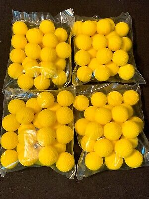 *NEW* 100 NERF RIVAL AMMO BALLS YELLOW GENUINE ROUNDS for BLASTERS