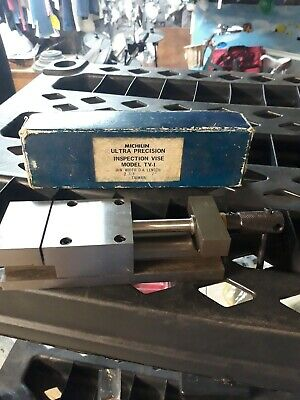 Michilin 7 Ultra Precision Toolmakers Inspection Vise