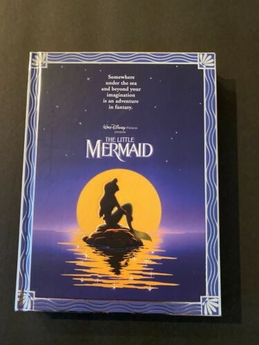 Disney The Little Mermaid Movie Poster Journal New With Tags NEW!