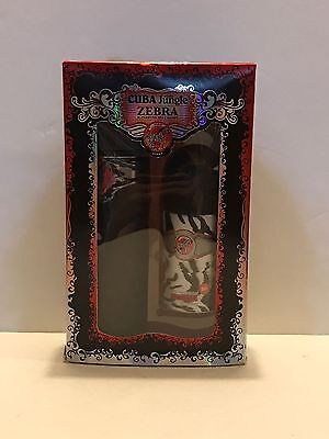 Cuba Jungle Zebra for Women Gift Set EDP Spray & Deodorant Stick New In Box Cuba Deodorant Eau De Parfum