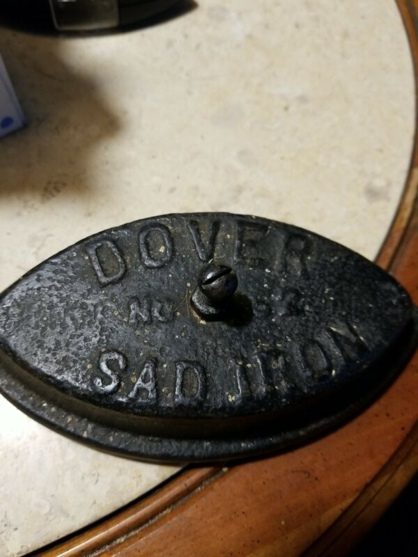 "Antique 6.5"" Long Dover No. 62 Sad Iron"