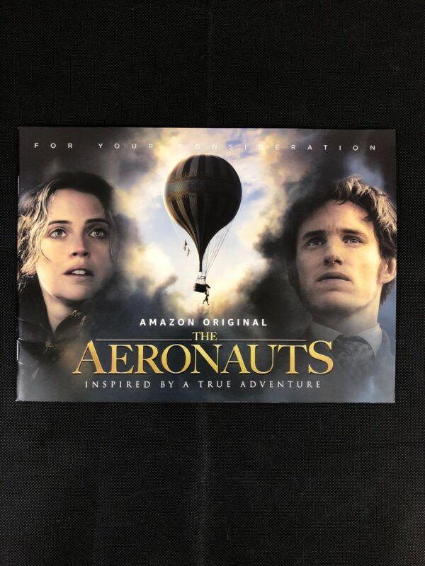 FYC The Aeronauts For Your Consideration booklet Eddie Redmayne / Felicity Jones