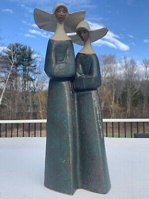 Beautiful Llardo Nuns figurine