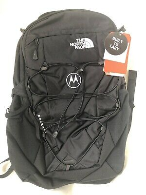 THE NORTH FACE Borealis Backpack TNF Motorola Black BRAND NEW