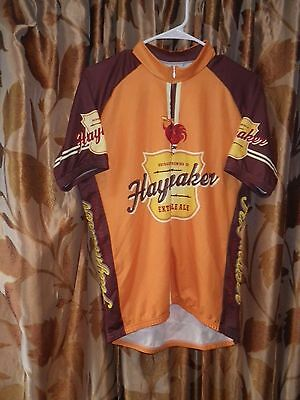 Retro Brand HAYMAKER EXTRA PALE ALE Cycling Jersey ~ L ~ Bridgeport Brewing 475f6124f