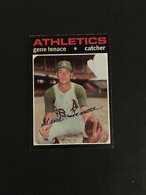 1971 TOPPS BASEBALL #338   GENE  TENACE    NM-MT+