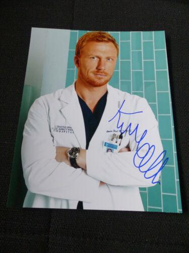 """KEVIN MCKIDD signed Autogramm auf 20x25 cm """"GREY'S ANATOMY"""" Bild InPerson LOOK"""