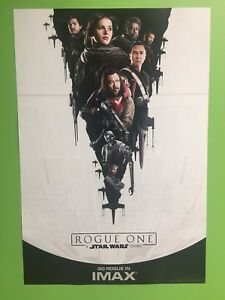 Rogue One IMAX Rare poster