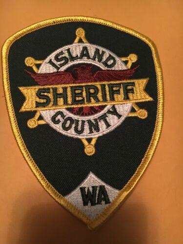 Island County Washington Sheriff Police patch