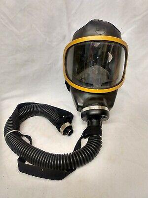 Msa Full Face Respirator Smoke Gas Mask Size Large 7-212-3