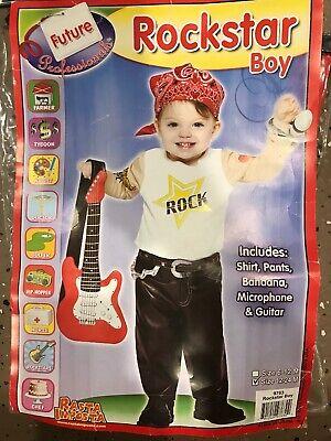 Boys Baby Infant HALLOWEEN costume ROCKSTAR size 12-24 Months](Rockstar Costumes For Boys)