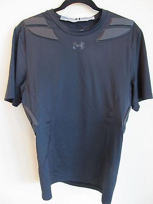 Under Armour Heat Gear Compression Shirt Football Gameday 5 Pad 1236233 2XL VGC