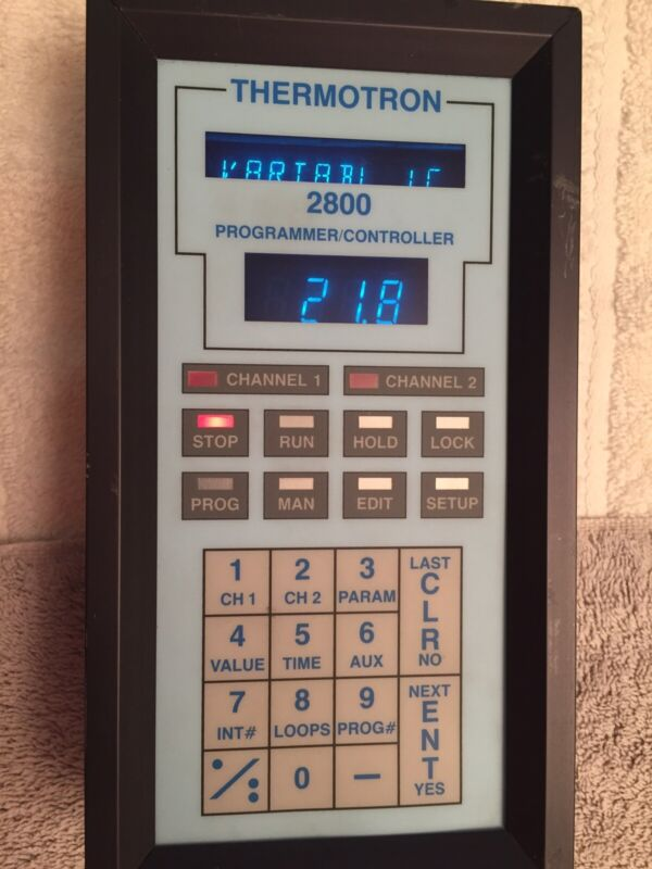 Thermotron 2800 Display