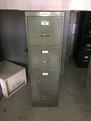 Vintage 4 Drawer Filing Cabinet - Local Pick Up Only