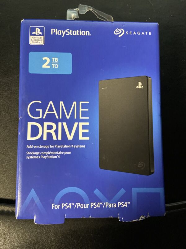 PlayStation Seagate - Game Drive for PS4 2TB External USB