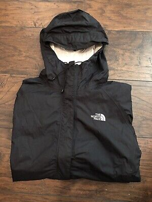 The North Face HyVent DT Vented Nylon Rain Jacket Black Women's Medium M