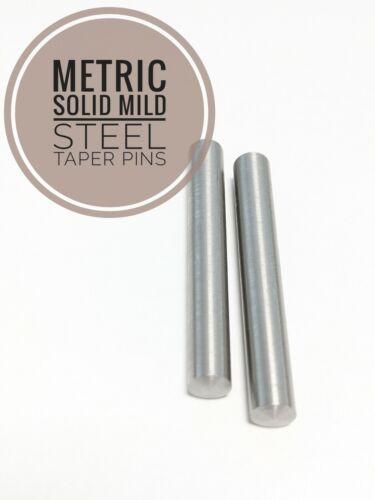 Taper Pins Mild Steel DIN1B 5mm Range